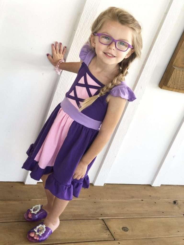 Etsy Rapunzel Kostüm