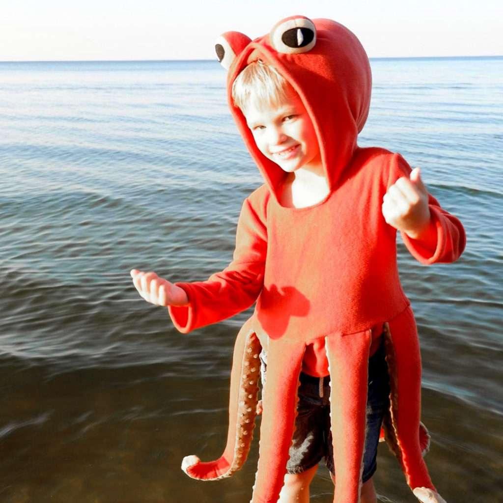 Etsy Tintenfisch Kostüm