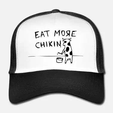 Spreadshirt - Eat More Chickin Cap