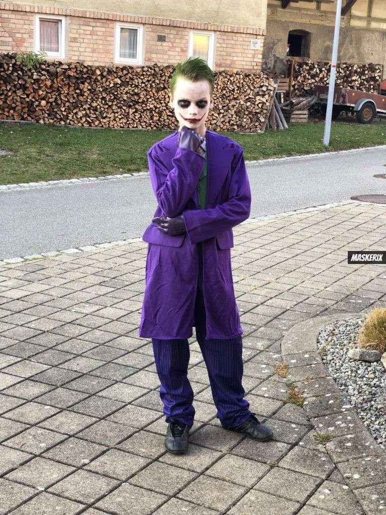 maskerix - Karneval-Foto-Contest 2020 - Joker Kostüm selber machen