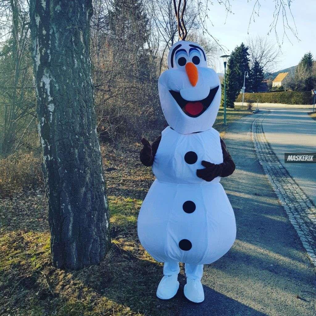 maskerix - Karneval-Foto-Contest 2020 - Olaf Kostüm selber machen