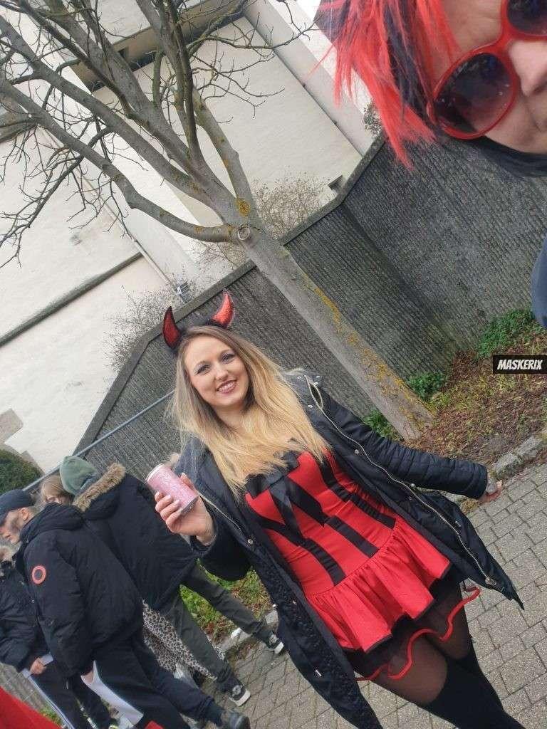 maskerix - Karneval-Foto-Contest 2020 - Teufel Kostüm selber machen