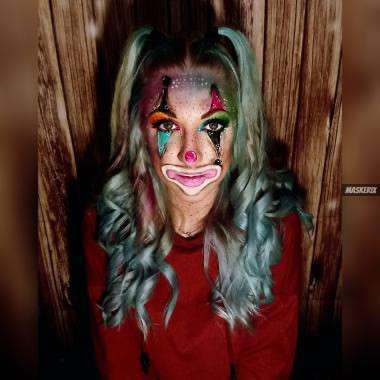 maskerix - Karneval-Foto-Contest 2020 - Clown Kostüm selber machen2