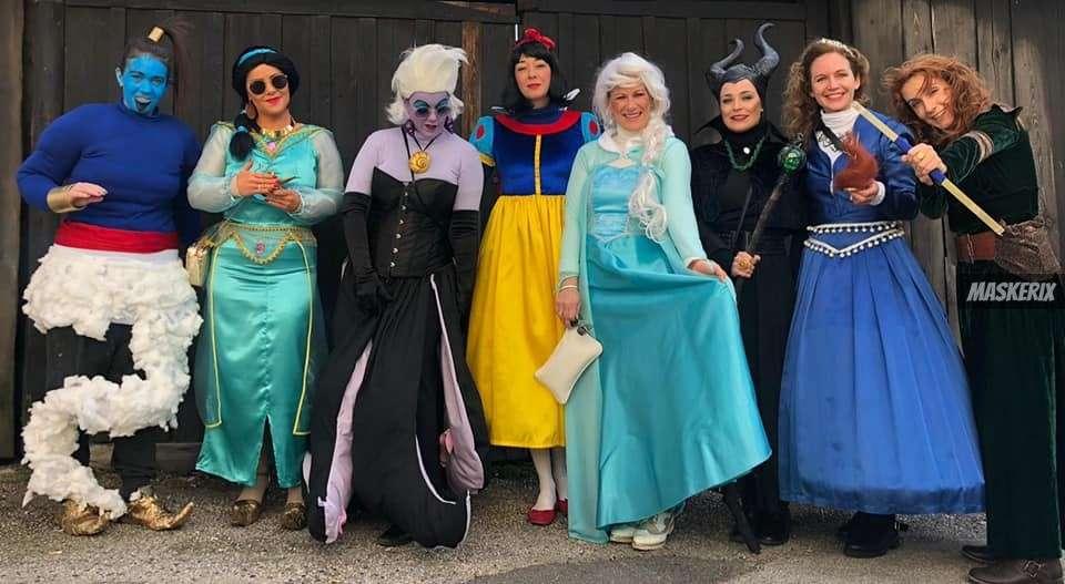 maskerix - Karneval-Foto-Contest 2020 - Disney Charaktere Kostüme selber machen
