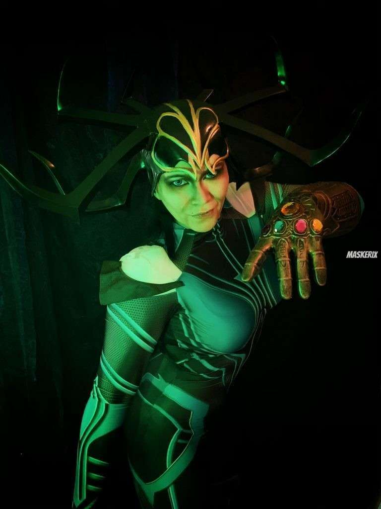 maskerix - Karneval-Foto-Contest 2020 - Göttin Hela Kostüm selber machen