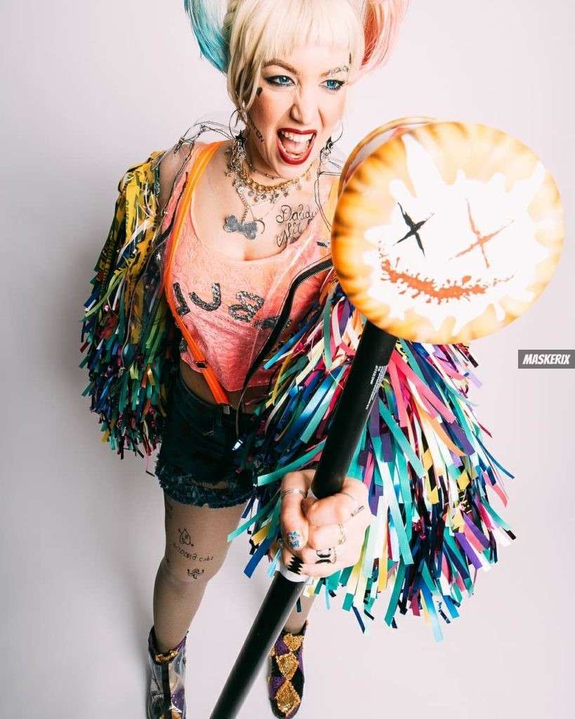 maskerix - Karneval-Foto-Contest 2020 - Harley Quinn Kostüm selber machen