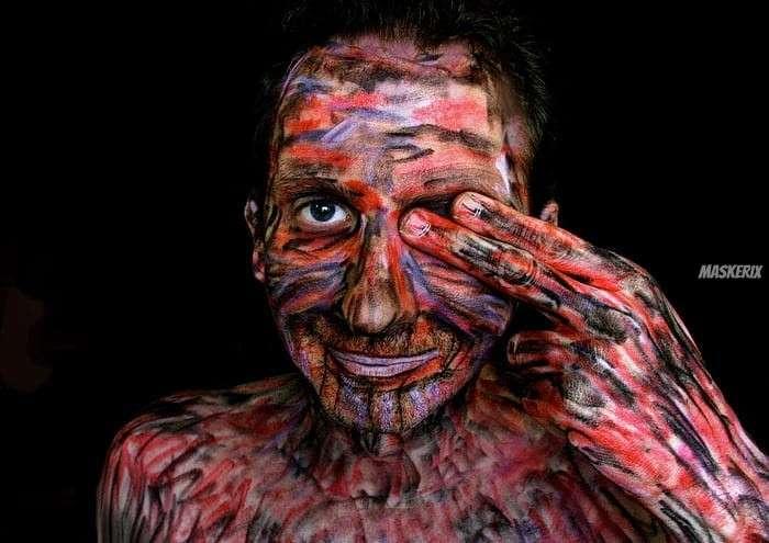 maskerix - Karneval-Foto-Contest 2020 - Körperkunst Kostüm selber machen