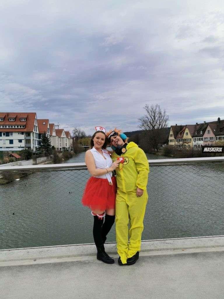 maskerix - Karneval-Foto-Contest 2020 - Krankenschwester Kostüm selber machen