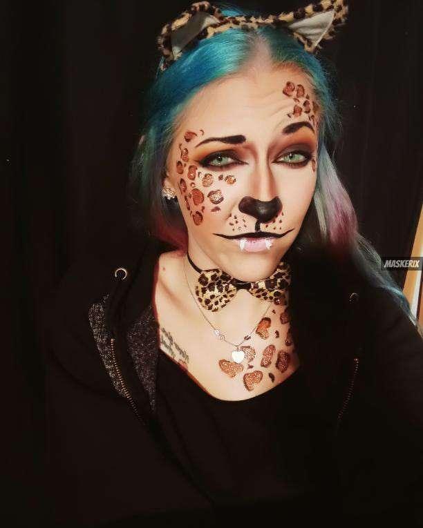 maskerix - Karneval-Foto-Contest 2020 - Leopard Kostüm selber machen