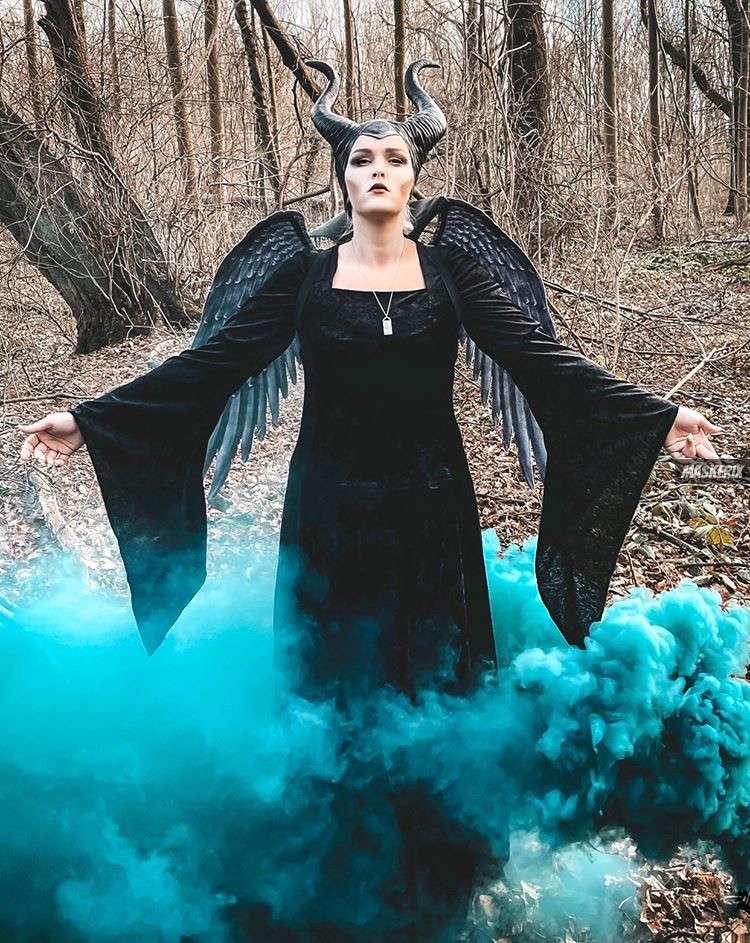 maskerix - Karneval-Foto-Contest 2020 - Maleficent Kostüm selber machen
