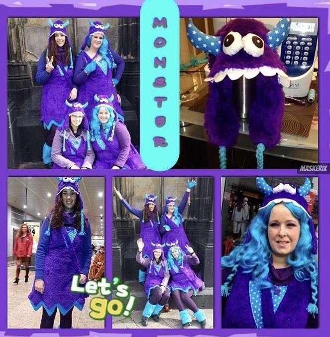 maskerix - Karneval-Foto-Contest 2020 - Monster Kostüm selber machen