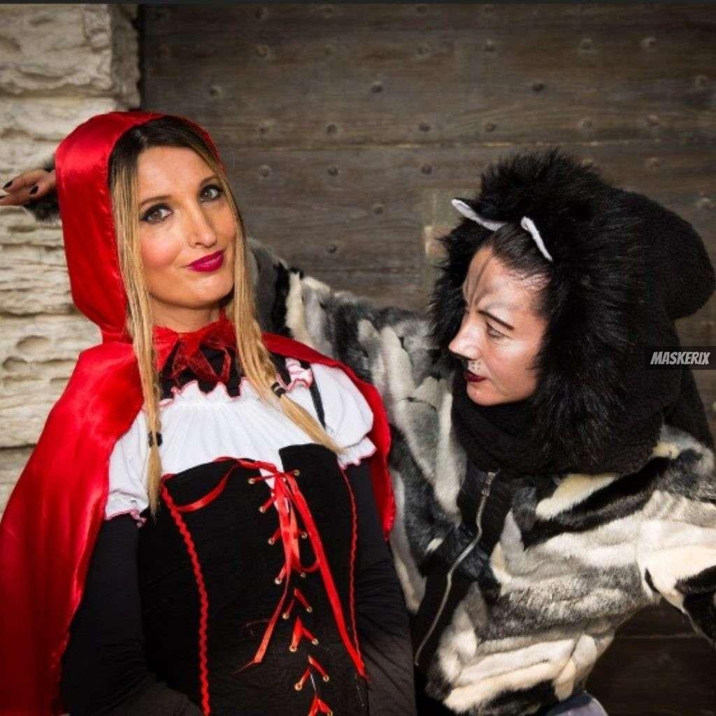 maskerix - Karneval-Foto-Contest 2020 - Rotkäppchen Kostüm selber machen2
