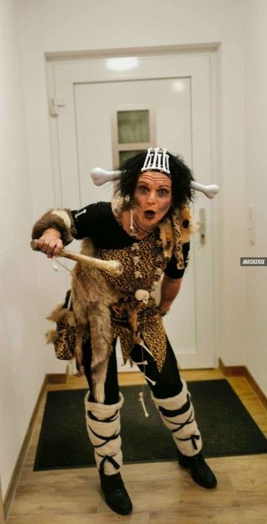 maskerix - Karneval-Foto-Contest 2020 - Steinzeit Kostüm selber machen