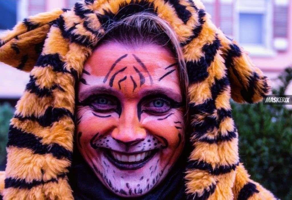 maskerix - Karneval-Foto-Contest 2020 - Tiger Kostüm selber machen