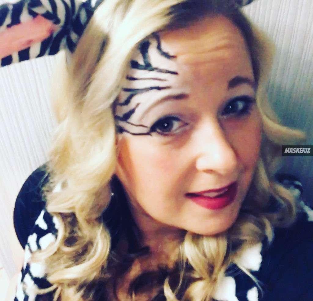 maskerix - Karneval-Foto-Contest 2020 - Zebra Kostüm selber machen