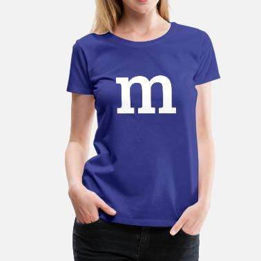 M&M Shirt Blau Spreadshirt