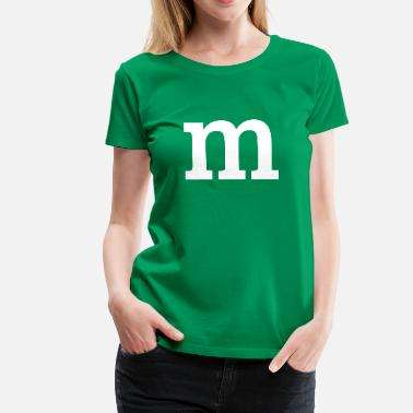 M&M Shirt Grün Spreadshirt