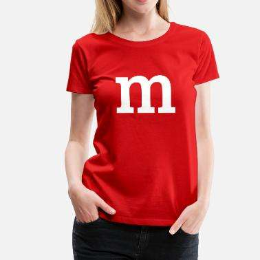 M&M Shirt Rot Spreadshirt