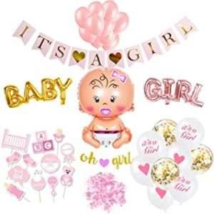 amazon - Babyparty Deko Girl