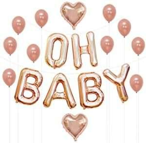 amazon - Babyparty Folienballons