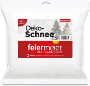 amazon - Adventskalender deko Schnee
