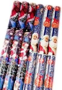amazon - Adventskalender Weihnachtsmanngeschenkpapier