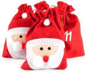 amazon - Adventskalender Weihnachtsmann-Beutel