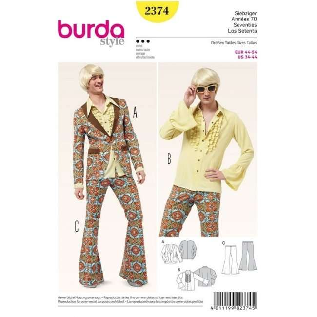 70er Jahre Anzug nähen