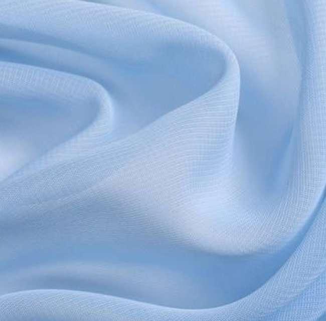 Kostüm nähen - Blauer Chiffon