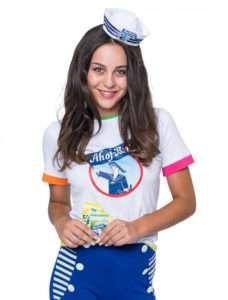 Ahoj-Brause Kostüm selber machen - Shirt