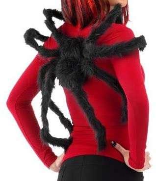 Kostüm selber machen - Spinnen-Rucksack