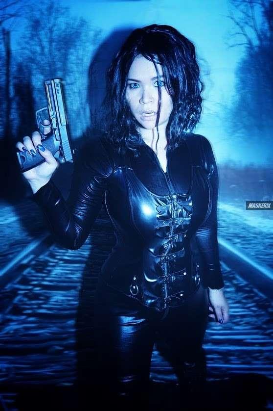 maskerix - Fotowettbewerb Gunwoman