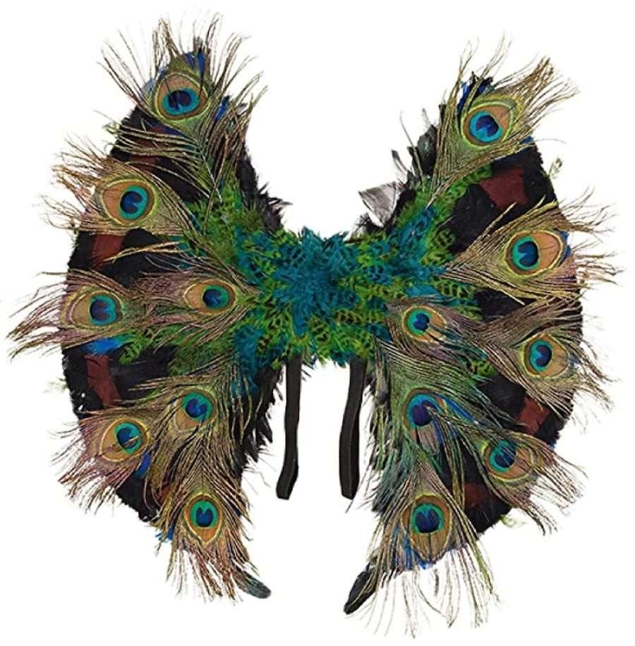 Amazon Pfau Kostüm Flügel